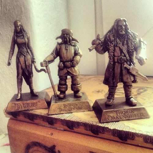 New Roommates <3 #thorin #bofur #tauriel #thehobbit TheHobbit Thorin Bofur Tauriel