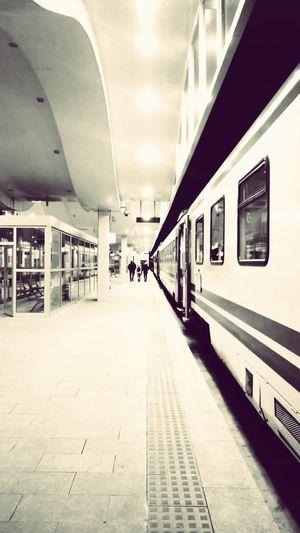 #trainstation #traintracks #travel #transportation Train - Vehicle Station City Day