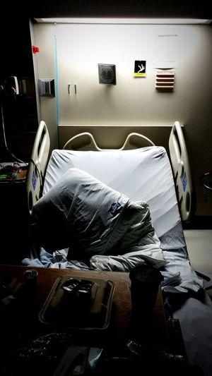 Hospital Bed Indoors  Life Shot