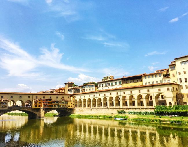 Florence Italy Firenze Landscape_Collection Bridge Pontevecchio Architecture_collection Taking Photos Visiting Travel Destinations Coloroflife Color Of Life