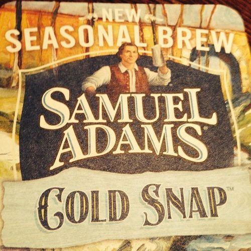 Goldsnap Samueladams Drinkresponsibly