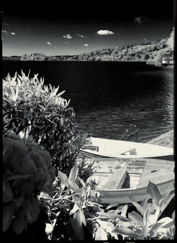 Horizon Over Water Sunny Day Black&white Black And White Photography Blackandwhite Lago Di Pusiano