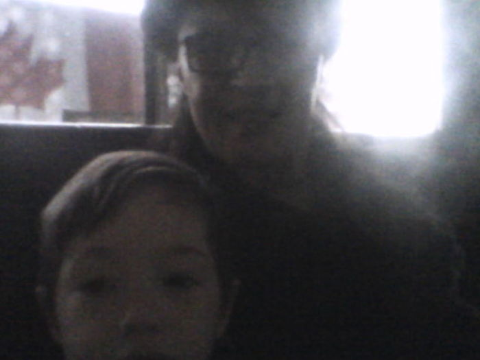 Happy Easter to all, my nephew Lucian and i after easter dinner.