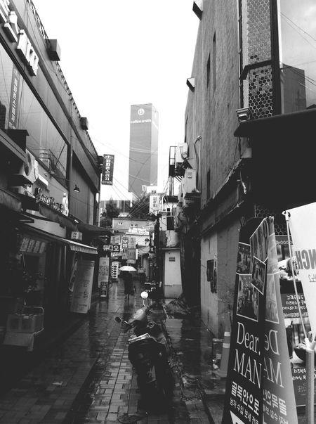 Gwangju Korea Black & White Contrast