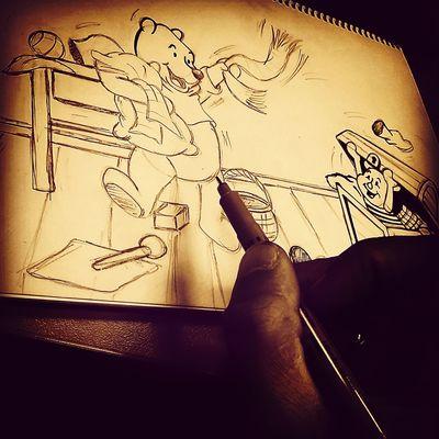 Cartoon Disney Art Drawing