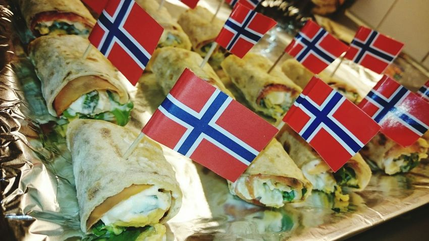 Preparation  for Norway s Nationalday Nationalday Norway 17.mai Flag Food Traditional Oslo