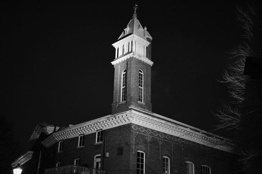 Architecture History Building Exterior Night Clock Tower Cityscape City Scenics Tranquility Blackandwhitephotography The Architect - 2017 EyeEm Awards