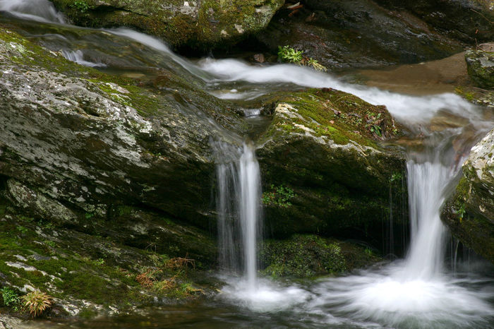 Beauty In Nature Blurred Motion Flowing Flowing Water Motion Nature Rock Formation Scenics Water