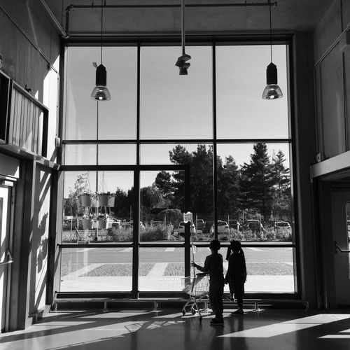 Street Architecture Two People Street Light Men Real People Lighting Equipment