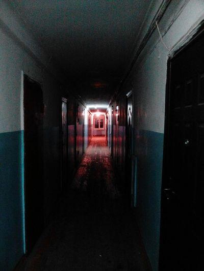 Tunnel Light Hope No People No Hope Hallway Hall Dormitory