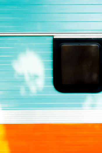 Abstract Backgrounds Camping Caravan Close-up Copy Space Day Negative Space No People Orange Color Outdoors Trailer Vintage Window Sommergefühle