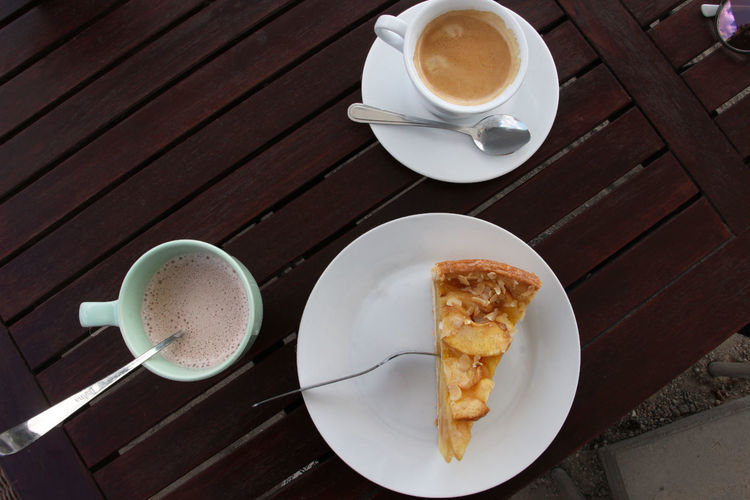 Food And Drink Drink Cup Coffee Coffee Cup Coffee - Drink Refreshment Mug Freshness Table Food Crockery Plate Still Life High Angle View Saucer Breakfast Ready-to-eat Indoors  Hot Drink Meal No People Frothy Drink Non-alcoholic Beverage Latte The Foodie - 2019 EyeEm Awards