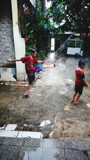 Water Spraying