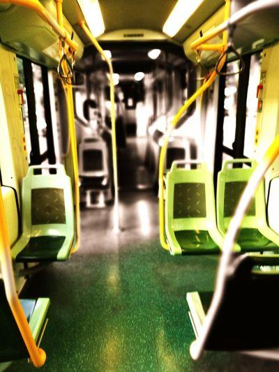 Green Color Transportation No People Day Tram Huawei P9. EyeEm Gallery