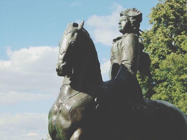 памятник статуя Прост коломенское