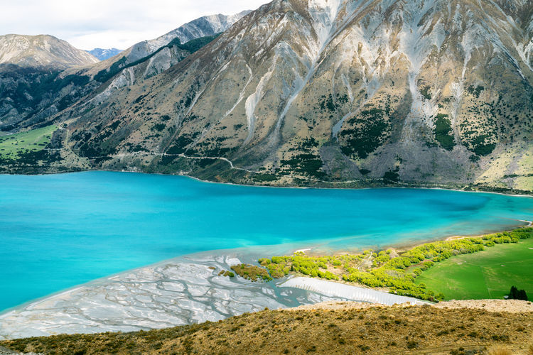 Lake Coleridge at Mt Oakden   Canterbury, NZ Amazing View Beautiful Beauty In Nature Blue Canterbury Coleridge Green Hiking Lake Landscape Mountain Nature New Zealand No People Outdoor River Scenic South Island Sunlight Sunlight And Shadow Trees Water EyeEmNewHere