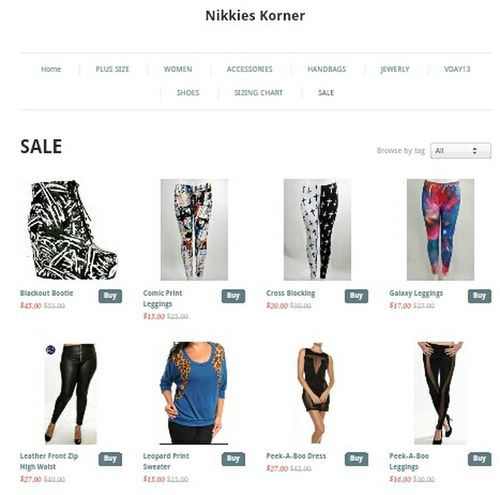 Shop our sale items! NikkiesKorner.com
