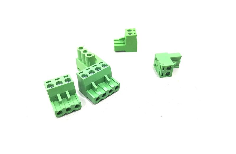 Text Green Color High Angle View White Background No People Day Wire Connector Cable Connector Electrical Electronic 3 Pins Connector 4 Pins Connector Work Engineering
