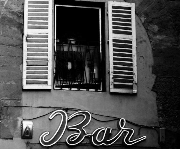 Florence Italy Blackandwhite
