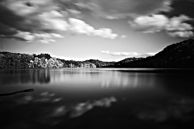 Radnor lake. a place of dreams in the middle of Tennessee Blackandwhite Landscape Longexposure