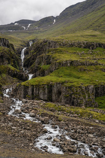 Beuatiful Nature Glacier River Iceland Mountain View Mountian  Rock Stone Wall Beauty In Nature Clouds And Sky Day Environment Flowing Flowing Water Green Color Iceland 2018 Iceland Fire And Ice Island Island 2018 Island Insel Aus Feuer Und Eis Land Landscape Lava Island Lava Stone Lava Stones Meadow Moss Mountain Mountain And Clouds Mountain And Sky Mountain Range Nature No People Outdoors Plant River Rock Rock Stones Scenics - Nature Silent Moment Sky Stream - Flowing Water Tranquil Scene Viking Island Water Waterfall