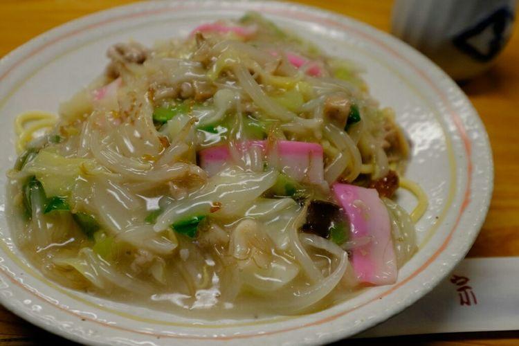 銀座吉宗の皿うどん 皿うどん 長崎料理 銀座 Foodporn Foodphotography Food Fujixe2 Fujifilm_xseries Fujifilm Fujifilm X-E2