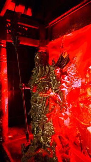 Kwan Kong in Hoo Hap Hwee