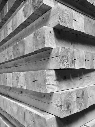 Wood - Material Full Frame No People Indoors  Nature Japan Nagoya-jo Castle Black And White 名古屋城 材木