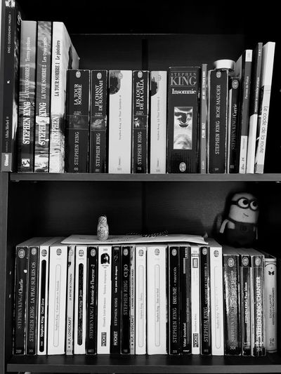 Everything In Its Place Stephenking BookLovers Reading A Book Loving Life  Amazingking Eyemshot Minions Despicableme