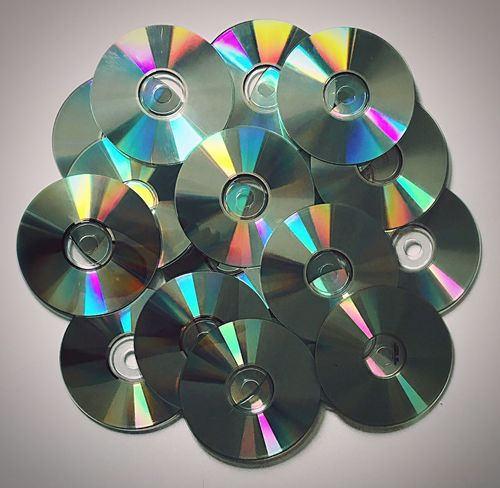 CDs Multi Colored Cd Art cd Bundle Technology