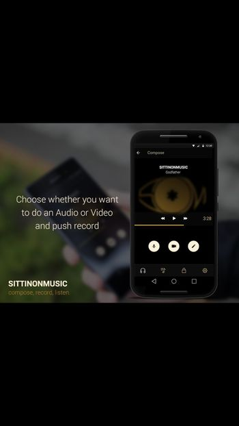 SittinOnMusic app out now for free download Freebeats HipHop Music