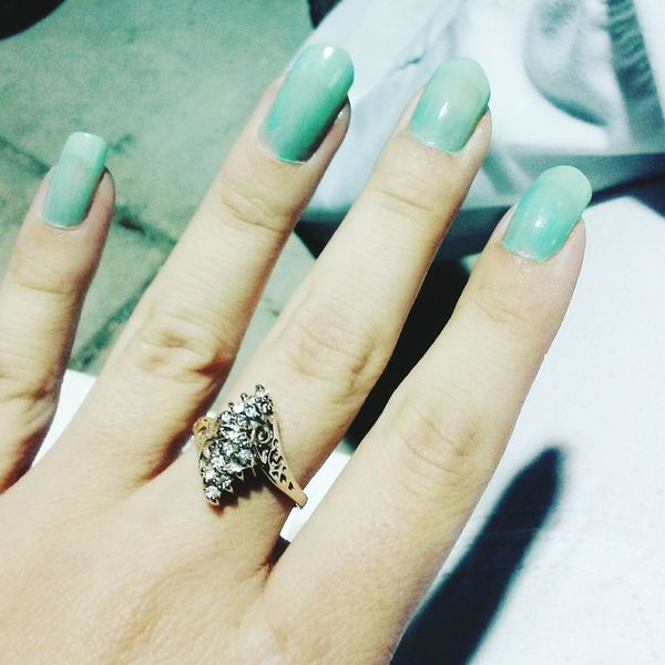 Pastel Power love this color Hand Nails Green Blue Nailphotography Handart Taking Photos Check This Out