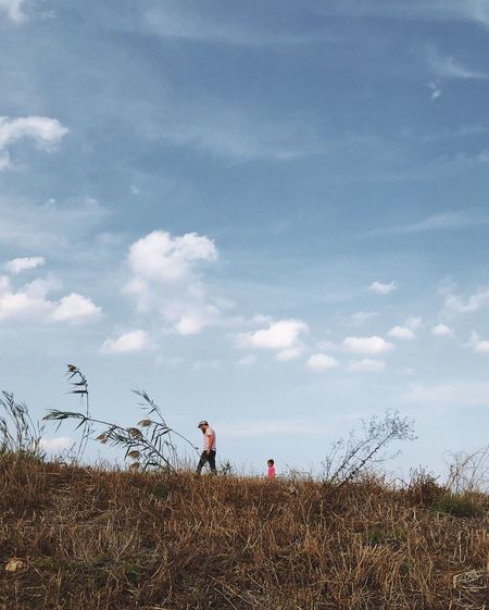 Family מיימומנט מייטבע מייעמקחפר IPhoneX מייאייפון10 ShotOnIphone Sky Cloud - Sky Field Land Plant Nature Day