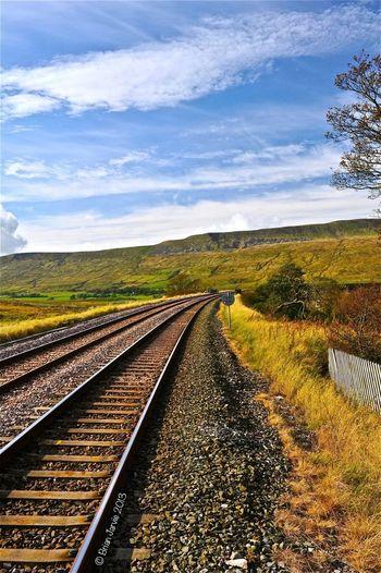 Landscape Train Tracks EyeEm Best Shots Nth Yorkshire