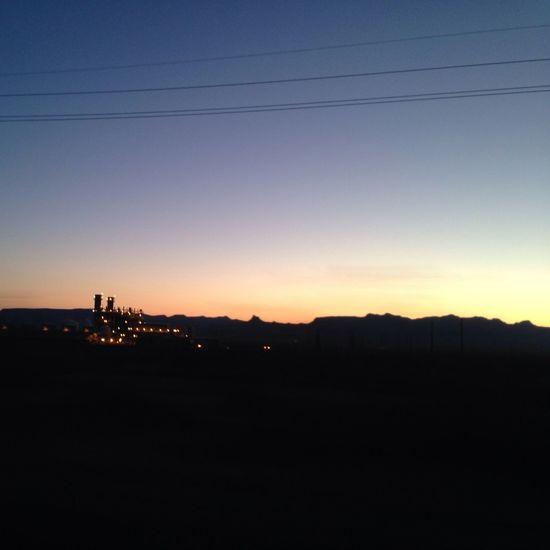 Arizona Desert Canyon Night