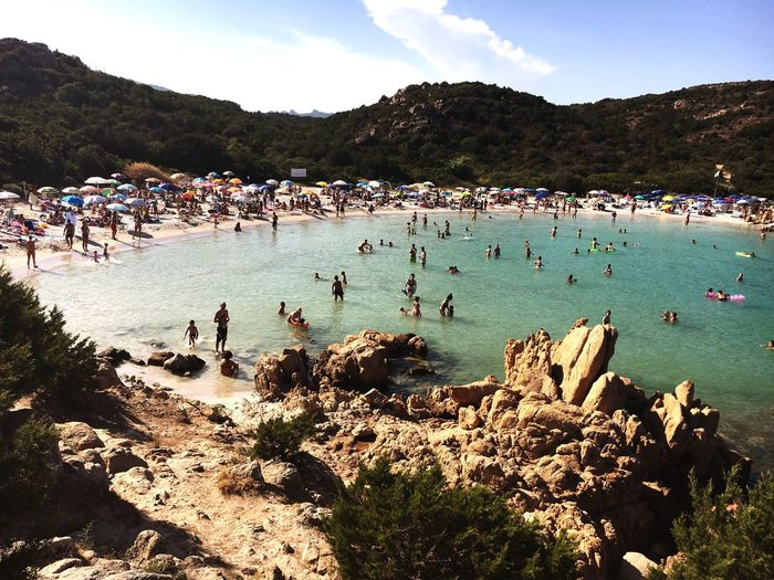 Beach Holiday Seaside Sand Cove Sardinia Sardegna Italy