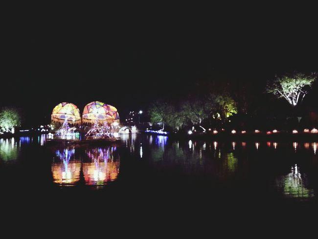 月津燈會。