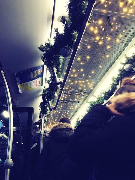Christmas Bus Car Transportation