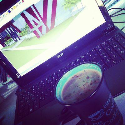 Cappuccino e projeto '-'