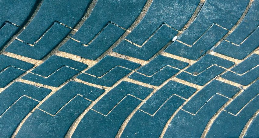Tread Tire Wheel Tread Abstract Closeup Pattern Surface Texture Blue Color Background Abstract Backgrounds Design Detail Sand Lines Tread Pattern