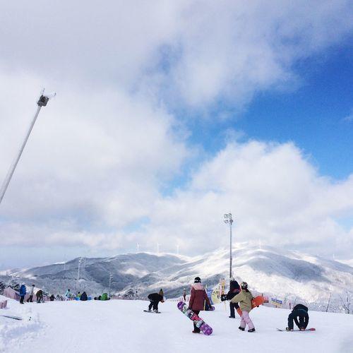 휘닉스파크 Ski Resort