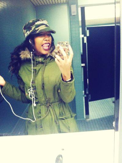 When I was happy earlier.