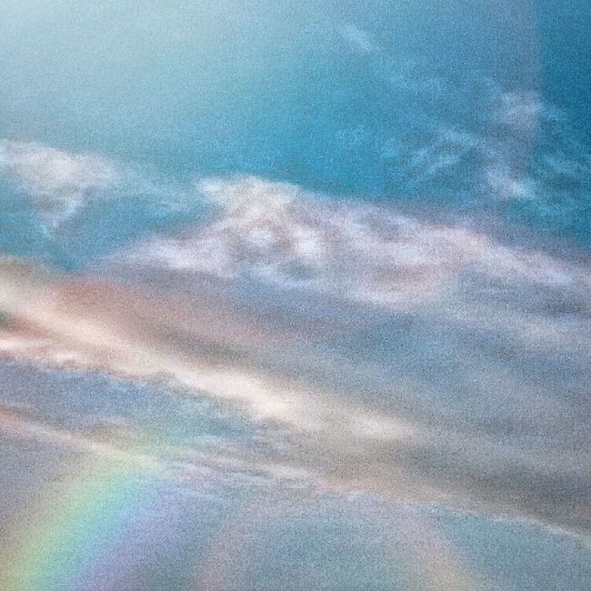 HDR Clouds And Sky Rainbow Check This Out