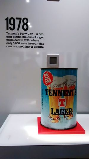 Lager Tennents Cans 1978