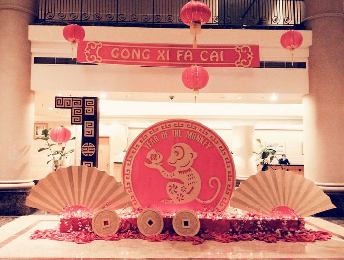 Happy Monkey Year Chinesedecoration Chineselanterns The Year Of The Monkey Chinese Characters Check This Out Cutemonkey New Years Resolutions 2016 Seremban Royalbintangresortspa&hotel