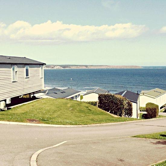 Scenery Caravan Park Summer Views Ocean View Ocean Seaside Sea And Sky Sea Holiday