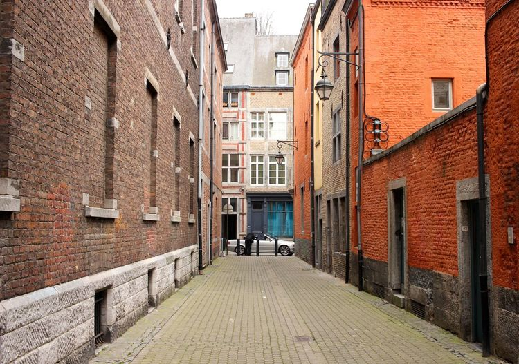 Architecture Brick Wall Building Exterior Built Structure City Day Outdoors Small Street