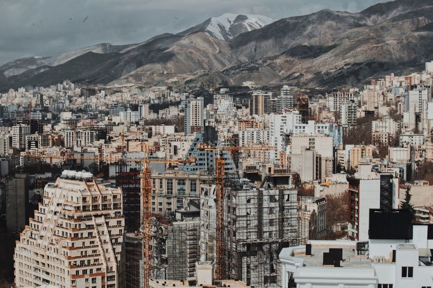 Tehran Buildings Tehran City Architecture Population Crowded Alborzmountain EyeEm OpenEdit Open Edit Mountain Architecture Building Exterior Built Structure City Building Day Mountain Range No People High Angle View Nature Cityscape Residential District Outdoors Religion Landscape Land Winter Snow Snowcapped Mountain