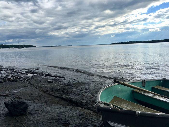 Lake Champlain. NY side view of Valcour Island Boat Lake Water Nature Cloud - Sky Outdoors Beauty In Nature Tranquil Scene Scenics My Favorite Place Enjoying Life Adirondacks Upstateny OpenEdit EyeEm Gallery Summer