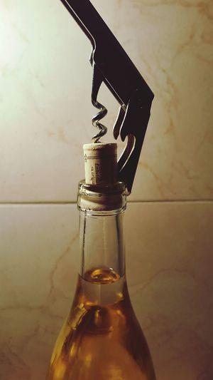 Vino Screwdriver Wine Vino Dulce Vidrio Botella Botella Luz Sacacorchos